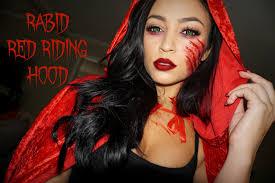 Halloween Half Mask Makeup by Rabid Red Riding Hood Halloween Tutorial Halloween Costumes