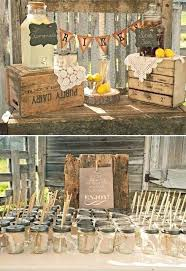Rustic Party Ideas Well Suited Decorations Wedding Weddings Chic Birthday