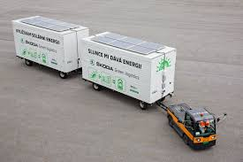 Electric Tow Tractor In The ŠKODA Plant: Solar Panels Charge ... Gmc Cabover Battery Delivery Truck With Mickey Truck Bodies Side Nikola One 2000hp Natural Gaselectric Semi Announced Fileinrstate Batteries Peterbilt 335 Pic2jpg Wikimedia Commons Electric Semi Trucks Heavyduty Available Models 100 Km On Full Batteries Daf Presents Its First Electric Lower Hutt Wellington Commercial Tesla Will Face Stiff Competion From Mercedesbenz In 663shd Vehicles View All Battery Boxes For Kenworth Volvo Freightliner Duracell 632 Dp225 Professional Vehicle Www