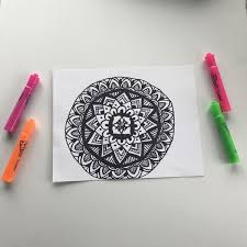 When Creating Your Own Mandala You Can Either Start From Nothing And Design The Whole Thing Or Color A Premade Will Have To Begin In Same