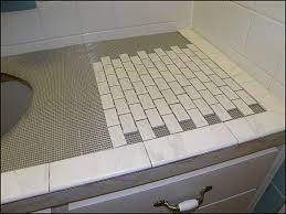how to tile a bathroom countertop laminate room design ideas