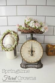 Decorate With Springtime Floral Crowns Home Decor InspirationSpring