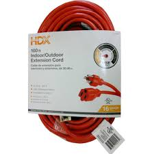 Floor Register Extender Home Depot by Hdx 100 Ft 16 3 Extension Cord Hd 277 525 The Home Depot