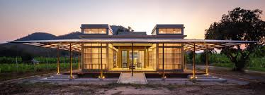 100 Thailand House Designs Junsekino Builds A Translucent Library For Community In