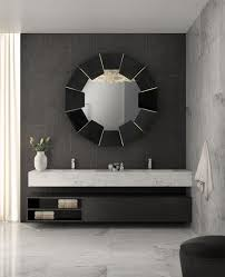 bathroom 15darian black mirror luxxu the oversized