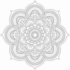 Free Downloads Coloring Mandala Books For Adults At Adult