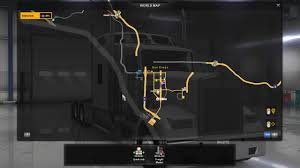 100 Game Truck San Diego USA To The Max V111 Map American Simulator Mod ATS Mod