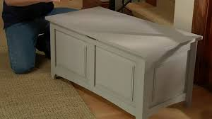 how to build a storage bench startwoodworking com