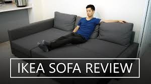 Friheten Corner Sofa Bed Dimensions by Ikea Friheten Sofa Bed Review Youtube
