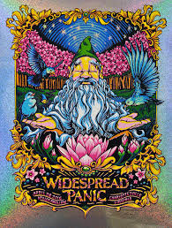 Widespread Panic Halloween 2015 by Aj Masthay 411posters