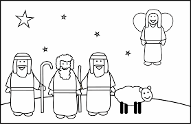 The Shepherds And An Angel