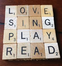 mystery playground scrabble tile coasters