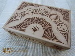 magic edh deck box commander deck box by alesthewoodcarver on deviantart