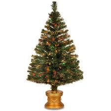 7ft Fiber Optic Christmas Tree Sale by National Tree Company 4 Ft Glittery Gold Pine Entrance Artificial