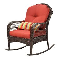 Outdoor Wicker Rocking Chair Porch Deck Rocker Patio Furniture W/ Cushion  New Maracay Rocking Chair And Side Table Java Wicker Sunnydaze Allweather With Faux Wood Design Outdoor Chairstraditional Style Sherwood Natural Brown Teak Porch Chairs Curved Polyteak Extra Wide Midcentury Modern Samsonite Tubular Steel Polywood Jefferson Sand Patio Rocker Comfort Poly Amish Set Of 2 Seat Cushions Alfric Swivel W Blue Cambridge Fniture Black Palm Harbor