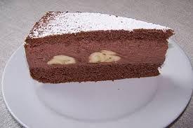 bananen schokosahne torte