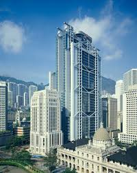 foster partners built the hong kong and shanghai bank headquarters