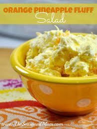 Orange Fluff Salad With Cottage Cheese Aytsaid Amazing Home