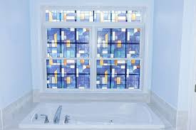 Artscape Decorative Window Film by Eclectic Master Bathroom With Master Bathroom By Denise And Rich