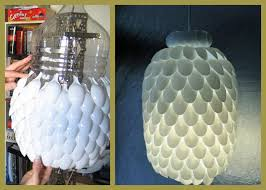 Make A Lamp Shade Diy Plastic Spoon Home Ideas Collection 10