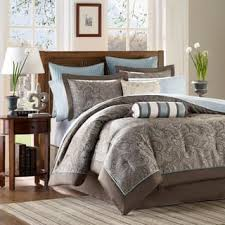 brown comforter sets for less overstock com