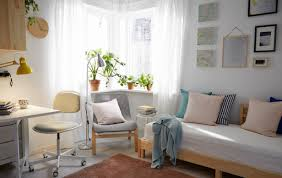 An On Off Small Space Living Room A Budget