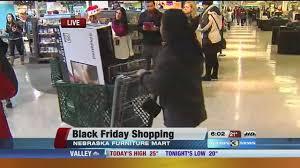 Shoppers camp out at Nebraska Furniture Mart for Black Friday