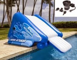 Inflatable Pool Slides Inflatable Pool Slides For Inground Pools