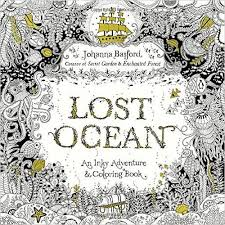 Lost Ocean An Inky Adventure And Coloring Book For Adults Amazonde
