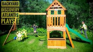 Backyard Discovery Atlantis Playset Swing Set: Review & Demo - YouTube 310 Backyard Discovery Playsets Swing Sets Parks Amazoncom Monterey All Cedar Wood Playset Review Adventure Play Atlantis Wooden Set Dallas Playhouses The Home Depot Picture On Playset65210com 3d Promo Youtube Ideas Backyardyscrestwoodenswingset1jpgv1481085746 Shop At Lowescom Oceanview Backyards Amazing Odyssey Excursion