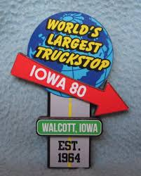Dimensional Iowa 80 Truck Stop Walcott Ia World's Largest Truckstop ...