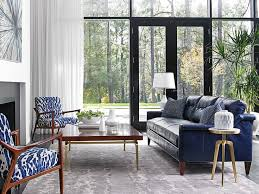 Black Leather Couch Living Room Ideas by Best 25 Blue Leather Sofa Ideas On Pinterest Blue Leather Couch