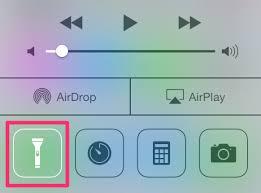 astuce pour éteindre la le de poche de l iphone depuis l écran