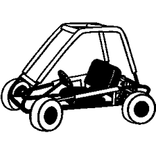 Sand Dune Buggy Clipart 1
