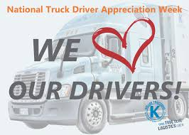 Logistical Lowdown | Driving For Keller September 11 17 Is National Truck Driver Appreciation Week When We 18 Fun Facts You Didnt Know About Trucks Truckers And Trucking Ntdaw Hashtag On Twitter Freight Amsters Holland Recognizes Professional Drivers Crete Carrier Cporation Landstar Scenes From 2016 We Holiday Graphics Pinterest Celebrating Eagle Tional Truck Driver Appreciation Week Prodriver Leasing 2017 Ptl Cporate
