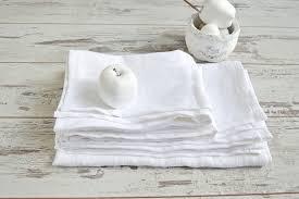 Linen Bath Towel Set