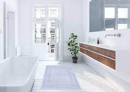 blau rutschhemmend lashuma badezimmerteppich petrol