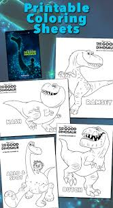 These Fun Coloring Pages Will Get You Excited About Disney Pixars The Good Dinosaur