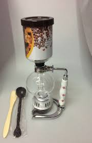 Ceramic Handle Syphon Coffee Maker Vacuum Machine Glass Brewer With Perfect Quality The Best Price In Makers From Home