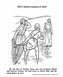 The Apostles Coloring Pages 1