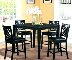 Kitchen Tables At Walmart Dining Room Table Set 5 Tall