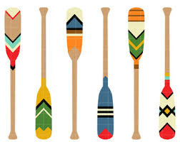 decorative oars and paddles boat paddle etsy