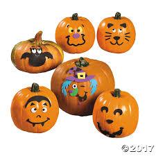 Foam Pumpkins Bulk by Small Pumpkin Face Craft Kit