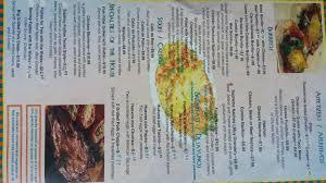 El Patio Bluefield Va Menu by Patio Restaurant Menu Outdoor Goods