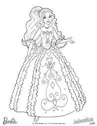 Portrait De Barbie à Colorier À Imprimer Gratuitement Ou Colorier
