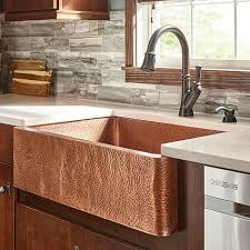 stunning manificent copper kitchen sinks copper kitchen sinks