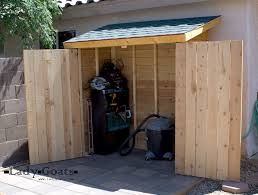 Small Cedar Fence Picket Storage Shed
