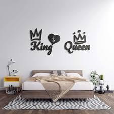 king in verschieden farben m grau 3d wandtattoo