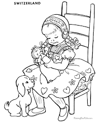 Kid Coloring Pages Printable