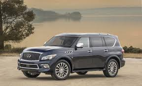 Infiniti QX80 AWD Limited Is A Posh Brute Of An SUV - The San Diego ... 2017 Infiniti Qx80 Review A Good Suv But A Better One Is Probably 2014 First Test Photo Image Gallery Pickup Truck Youtube Finiti Qx70 Crossover Usa Qx 80 Limo Luxurious Stretch Limousine For Any Occasion 2010 Fx35 Reviews And Rating Motor Trend 2016 Finiti Qx80 Front View Design Pictures Automotive Latest 2012 Qx56 On 30 Asantis 1080p Hd Sold2011 Infinity Show For Salepink Or Watermelon Your 2011 Rims 37 2015 Look